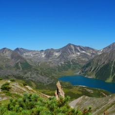 Камчатка, озеро Медвежье