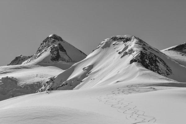 Layla peak, highest mount of Svaneti range.