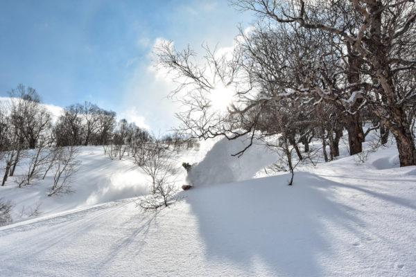Kamchatka powder - Ganalsky Backcountry Camp
