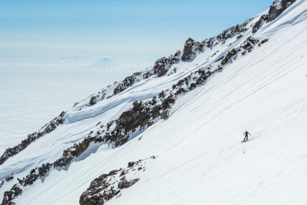 Slopes of Koryaksky volcano, Kamchatka.