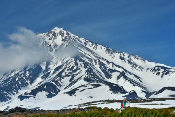 Koryaksky volcano, Kamchatka. Just skied.