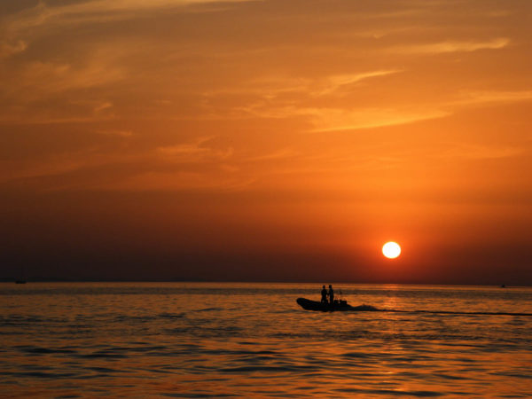 Croatian sunset.